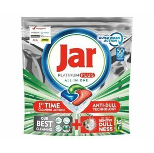 JAR PLATINUM PLUS GREEN QW TABLETY 50KS kapsuly do umývačky, 50 ks