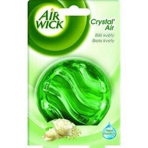 Air Wick Crystal Air Biele kvety frézie 1 kus