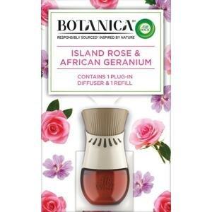 Air Wick Botanica Electric Exotická ruža a africká pelargónia 1 kus / 19 ml