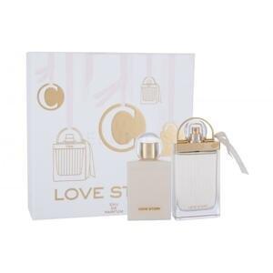 Chloé Love Story 1×1 set, parfumovaná voda 75 ml + telové mlieko 100 ml