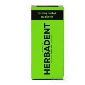 HERBADENT Original Bylinný roztok na ďasná 1x25 ml