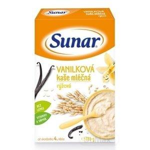 Sunar VANILKOVÁ KAŠA mliečna ryžová 225g (od ukonč. 4. mesiaca)