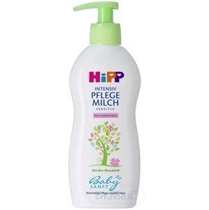 HiPP BabySANFT Telové mlieko sensitiv, pre suchú pokožku 1x300 ml