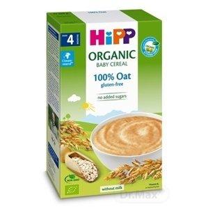 HiPP BIO Prvá obilná KAŠA 100% ovsená 1×200 g, nemliečna kaša, 4m+