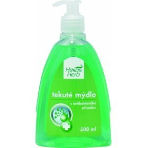 HELIOS HERB ANTIBAKTERIALNE TEKUTE MYDLO 500ML antibakteriálne mydlo, 500 ml