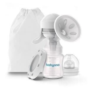 BabyOno Odsávačka materského mlieka manuálna Anatomy 1×1 ks, manuálna odsávačka mlieka 150 ml