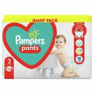 Pampers Pants GP S3 76ks (6-11kg)