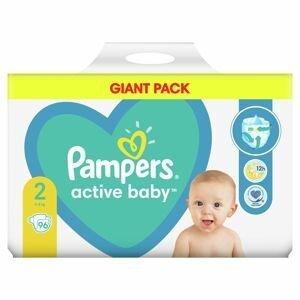 Pampers Active Baby GP S2 96ks (4-8kg)