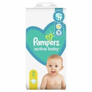 Pampers Active Baby MP S2 112ks (4-8kg)