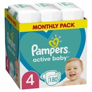 Pampers Active Baby MSB S4 180ks
