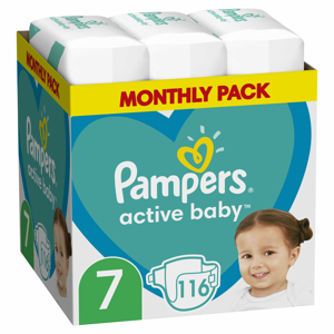 Pampers Active Baby MSB S7 112ks