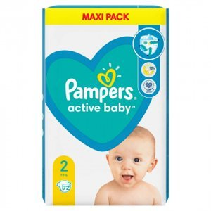 PAMPERS ACTIVE BABY MP S2 4-8KG 228ks