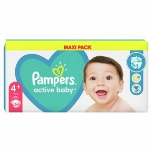 Pampers Active Baby MP S4+ 54ks (10-15kg)
