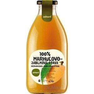 zdravo 100% MARHUĽOVO-JABLKOVÁ ŠŤAVA 1×0,75 l, s prírodnými cukrami