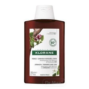 KLORANE SHAMPOOING À LA QUININE & EDELWEISS BIO šampón s chinínom a bio plesnivcom alpským 1x200ml