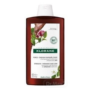 KLORANE SHAMPOOING À LA QUININE & EDELWEISS BIO šampón s chinínom a bio plesnivcom alpským 1x400ml
