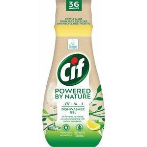 Cif All in 1 Nature Gél do umývačky riadu 640ml
