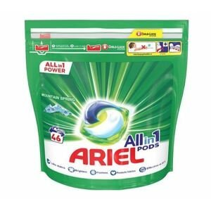 Ariel All in 1 Gelové tablety Mountain Spring 46ks 1×46 tbl, gélové tablety