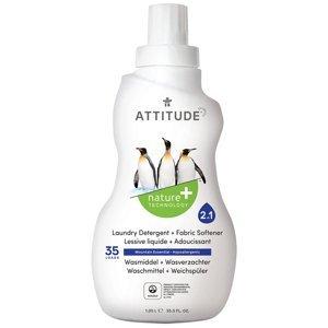 ATTITUDE Prací gél a aviváž (2 v 1) s vôňou Mountain Essentials 1050 ml (35 dávok) 1040ml