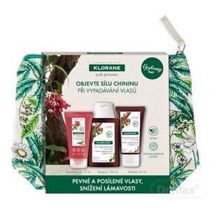 KLORANE QUININE TRAVEL KIT (šampón 100 ml + balzam 50 ml + sprchový gél 75 ml) 1x1 set