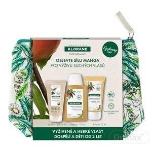 KLORANE MANGUE TRAVEL KIT (šampón 100 ml + balzam 50 ml + sprchový gél 75 ml) 1x1 set