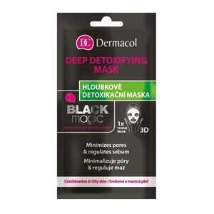Dermacol Textilná detoxikačná maska Black Magic 1 ks