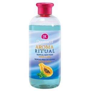 Dermacol Aroma Ritual pena do kúpeľa Papája a mäta 500 ml