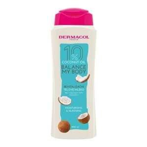 Dermacol Coconut oil revitalizačné telové mlieko 400 ml