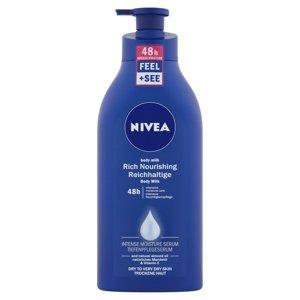NIVEA Výživné telové mlieko Body Milk 625ml 625 ml