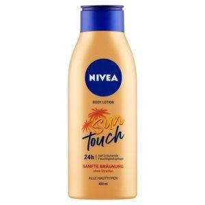 NIVEA Tónovacie telové mlieko Sun Touch 400 ml