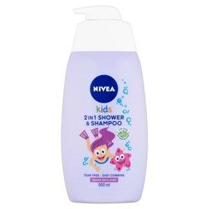 NIVEA Kids Detský Sprchovací gél GIRL 500ml 500 ml