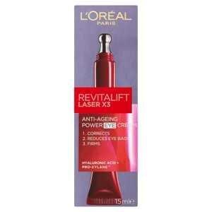 L'Oréal Paris Revitalift Laser očný krém 15 ml