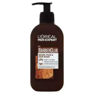 L'Oréal Paris Men Expert Barber Club 3 v 1 čistiaci gél na tvár, bradu a vlasy 200 ml