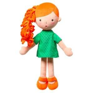 BABYONO Bábika plyšová Hannah 1×1 ks, plyšová bábika