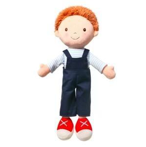 BABYONO Bábika plyšová Oliver 1×1 ks, plyšová bábika