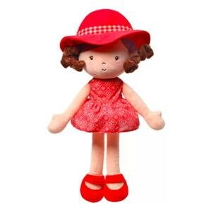 BABYONO Bábika plyšová Poppy 1×1 ks, plyšová bábika