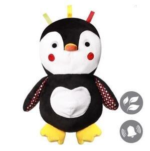 BABYONO Hračka plyšová s hrkálkou C-MORE tučniak Connor 30 x 45 cm 1×1 ks, plyšová hračka pre deti