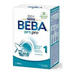 BEBA OPTIPRO 1 1×600 g, dojčenská výživa, od narodenia