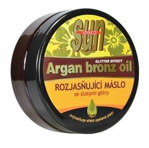 VIVACO SUN ARGAN BRONZ maslo po opaľovaní so zlatými glitrami 1x200 ml