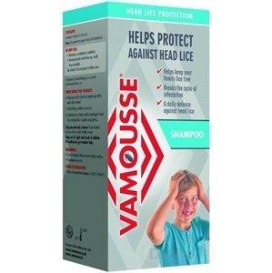 VAMOUSSE - ochrana hlavy proti všiam 1×200 ml, šampón