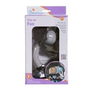 DREAMBABY Ventilátor na kočík FAN čierny 1×1 ks