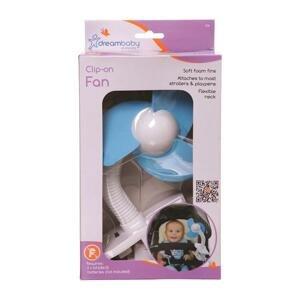 DREAMBABY Ventilátor na kočík FAN modrý 1×1 ks