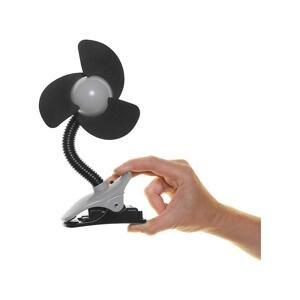DREAMBABY Ventilátor na kočík FIN čierny 1×1 ks