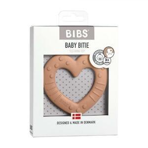 BIBS Baby Bitie hryzátko heart-peach 1×1ks