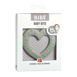 BIBS Baby Bitie hryzátko heart-sage 1×1ks