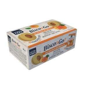 Nutrifree Bisco&Go Albicocca linecké koláče s marhulovým lekvárom 1×160g