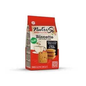 Nutrifree Nutri Sí Novellino Vegano sušienky s červeným ovocím 1×250g