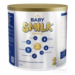BABYSMILK PREMIUM 2 následná dojčenská mliečna výživa v prášku, s Colostrom (6 - 12 mesiacov) 1×900 g, dojčenské mlieko, od 6. mesiaca