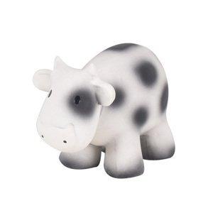 Tikiri Farm - hrkálka a hryzátko z prírodnej gumy kravička 1×1 kus, hračka pre deti
