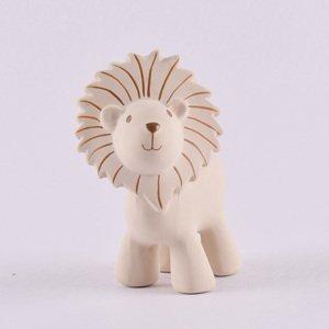 Tikiri Safari - hrkálka a hryzátko z prírodnej gumy levík 1×1 kus, hračka pre deti